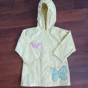 Toddler girls raincoat